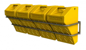 Chock Storage Rack (Quad)