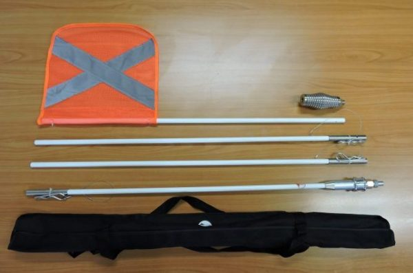 Safety Flag Kit and bag