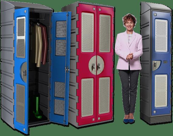 Wardrobe Locker Range