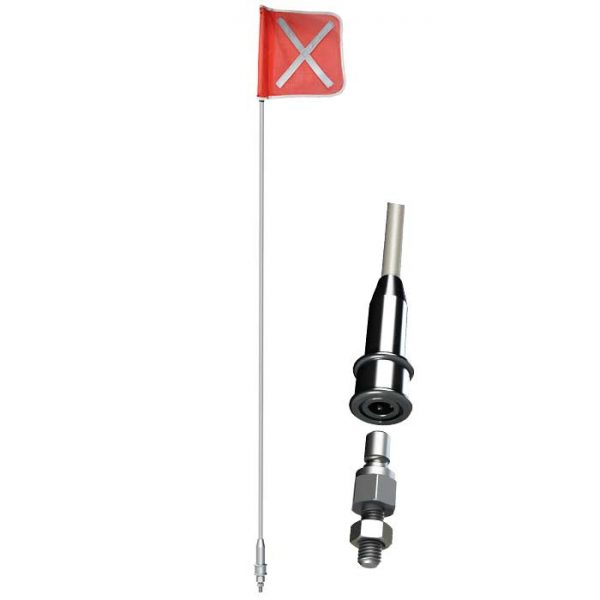 Safety Flag Kit POLE and BASE detail
